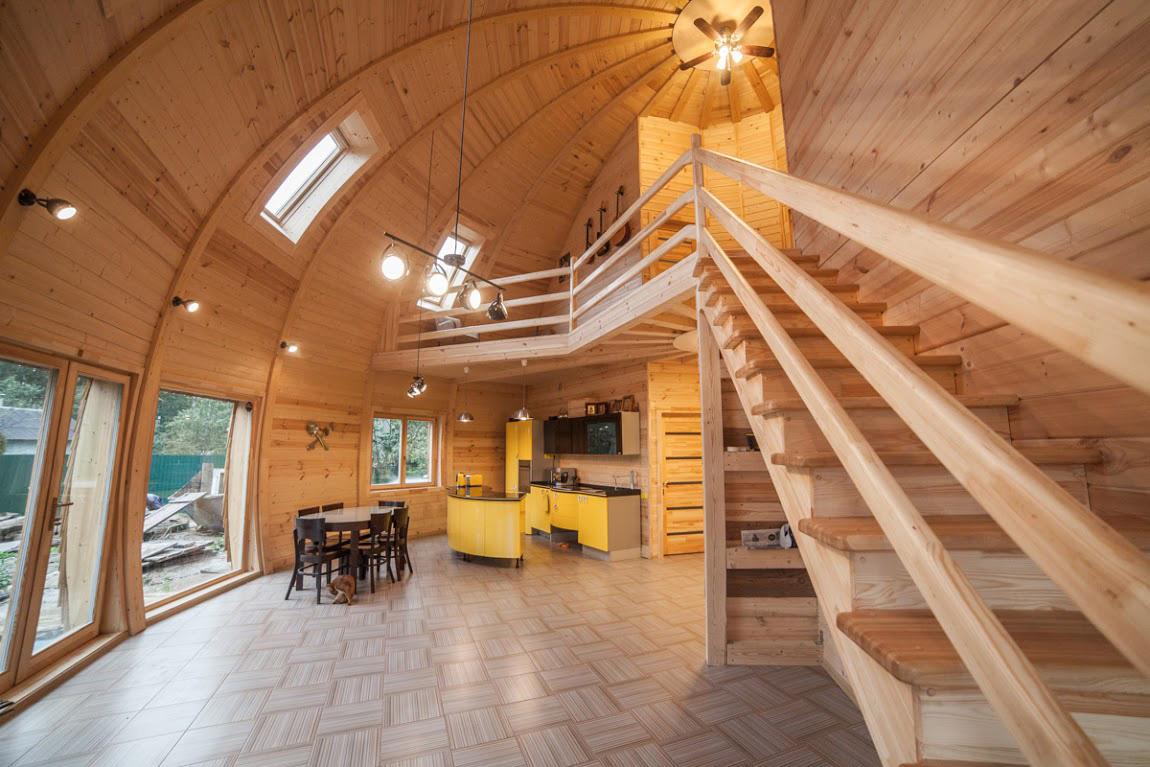 деревянные дома устройство фото начальной